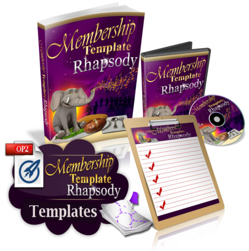 Membership Template Rhapsody